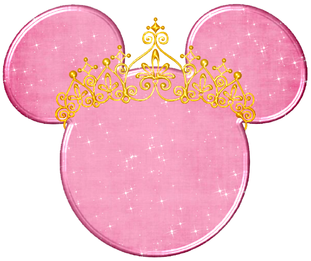Minnie mouse gold. Disney mickey head clipart