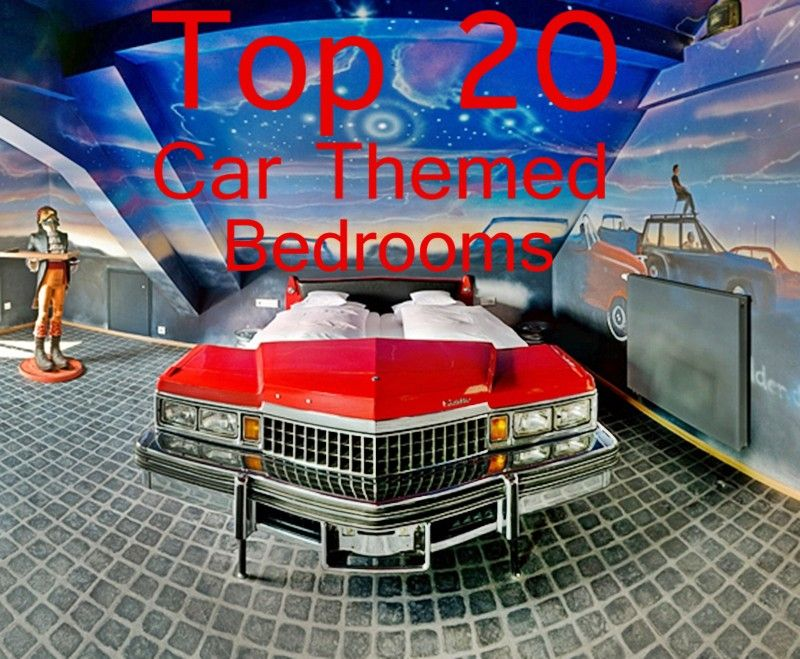 Great The Top 20 Car Themed Bedrooms
