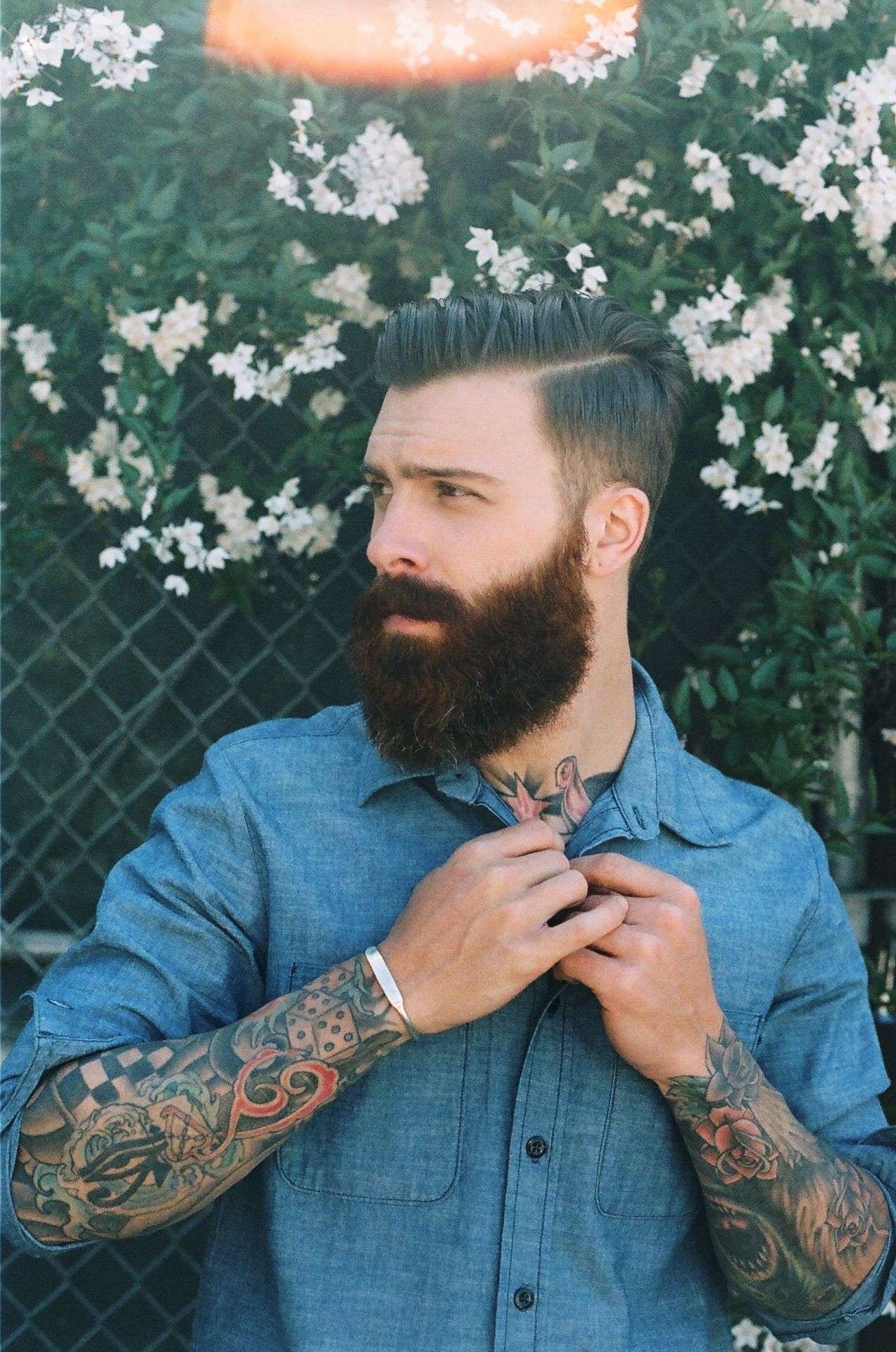 Modern pompadour beard - Explore Pompadour Hairstyle Men S Hairstyle And More