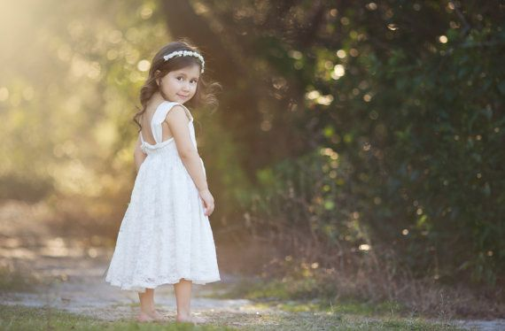 Hey, I found this really awesome Etsy listing at https://www.etsy.com/listing/272995716/ivory-lace-flower-girl-dress-rustic