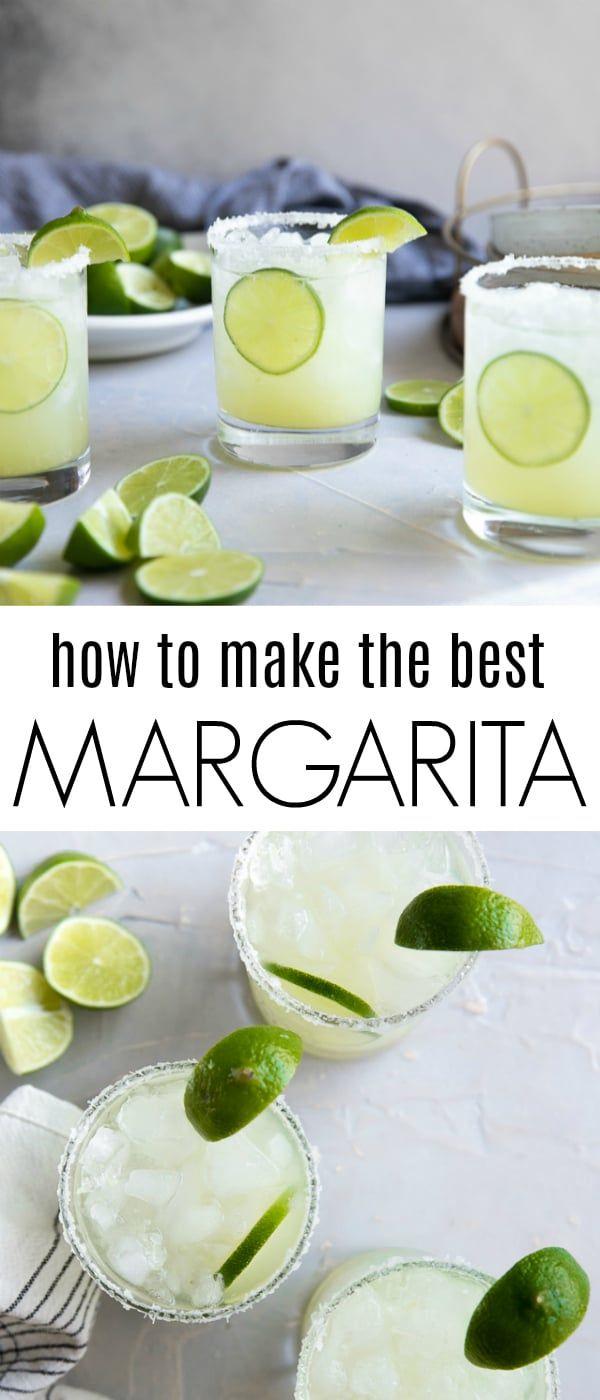 Classic Margarita Recipe (How to Make a Margarita)