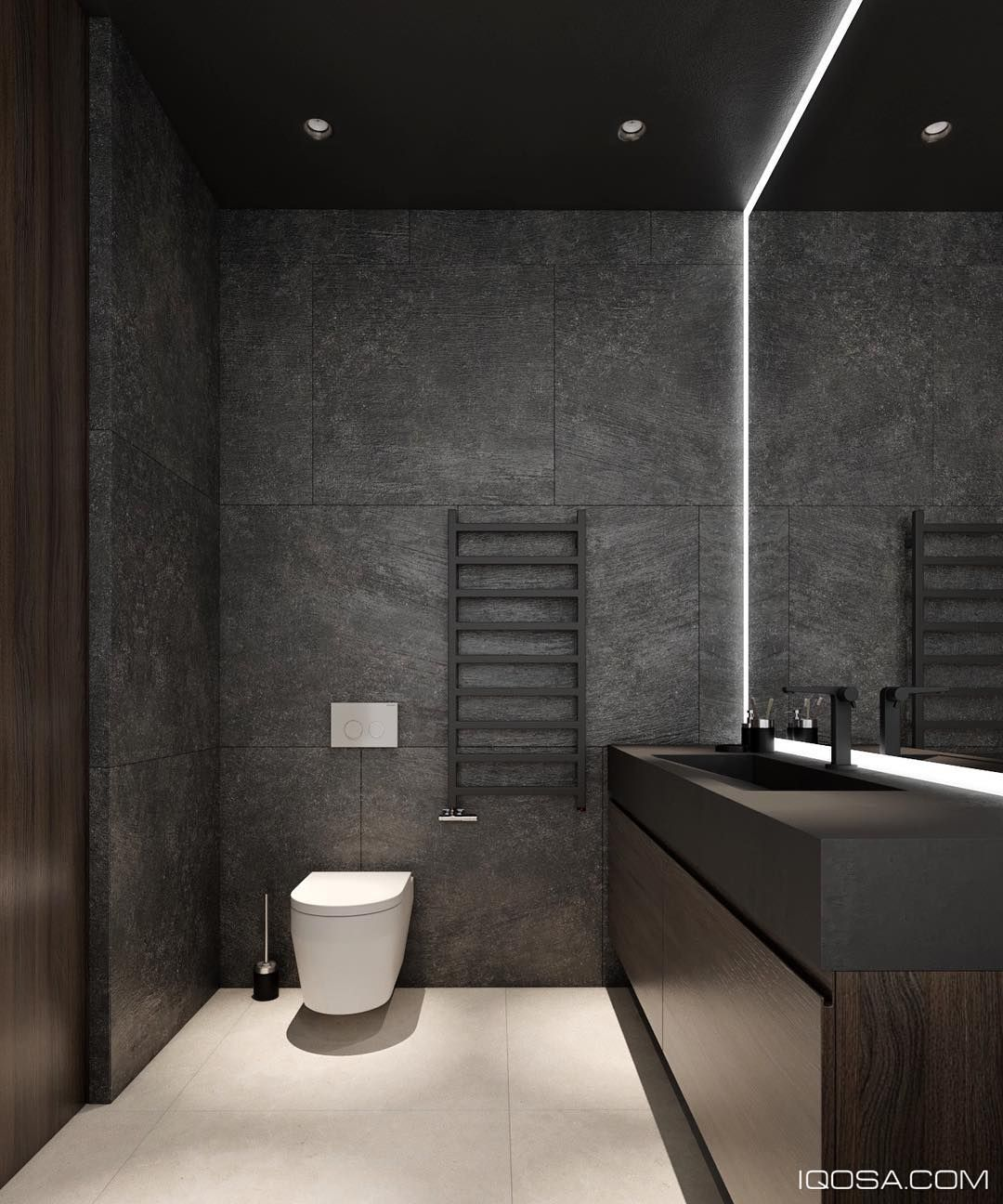 656 Likes 8 Comments Interior Designer Architect Iqosa On Instagram The Next Project Of The Apartm Toilet Design Modern Washroom Design Toilet Design