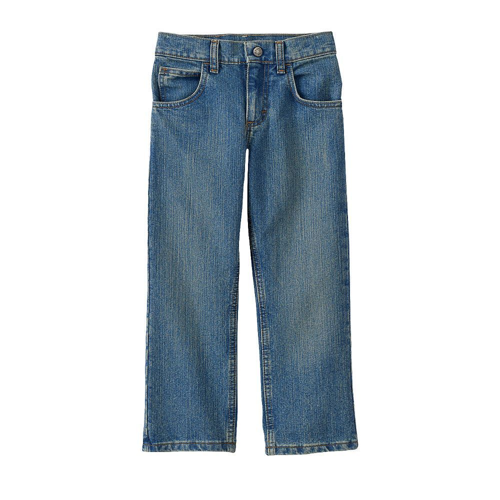 Boys 4-7x Lee Tough Max Straight Jeans, Size: medium (7), Light Blue