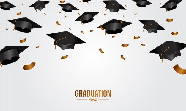 Education concept graduation party banne... | Premium Vector #Freepik #vector #background #banner #school #party
