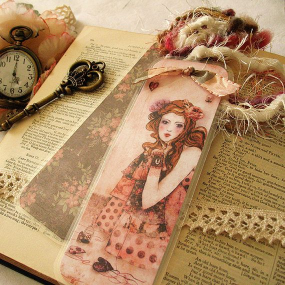 Bookmark  My Love Stories by Minasmoke on Etsy, $7,50