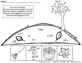 Ice Cream Positional Words Worksheets for Kindergarten