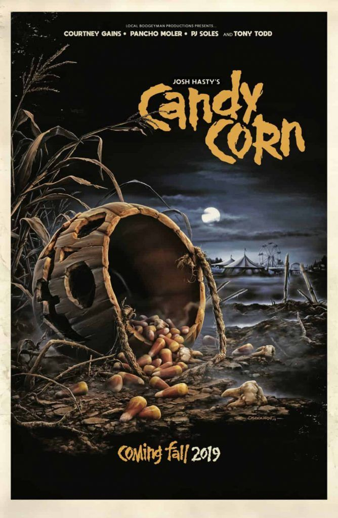 Halloween Creeper CANDY CORN Debuts New Poster and Trailer