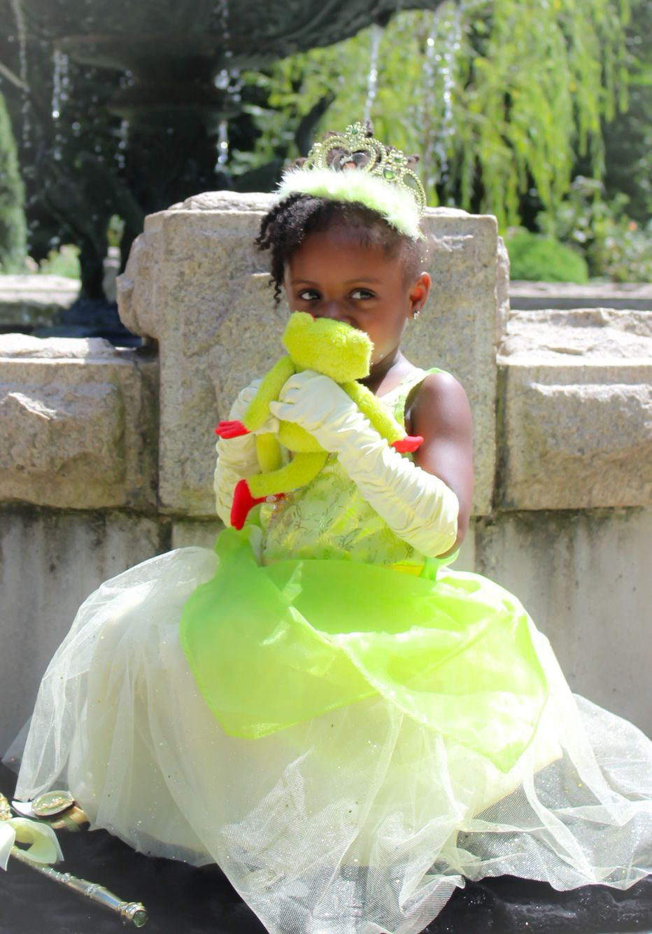Sydney dressed as Princess Tiana (With images) Princess
