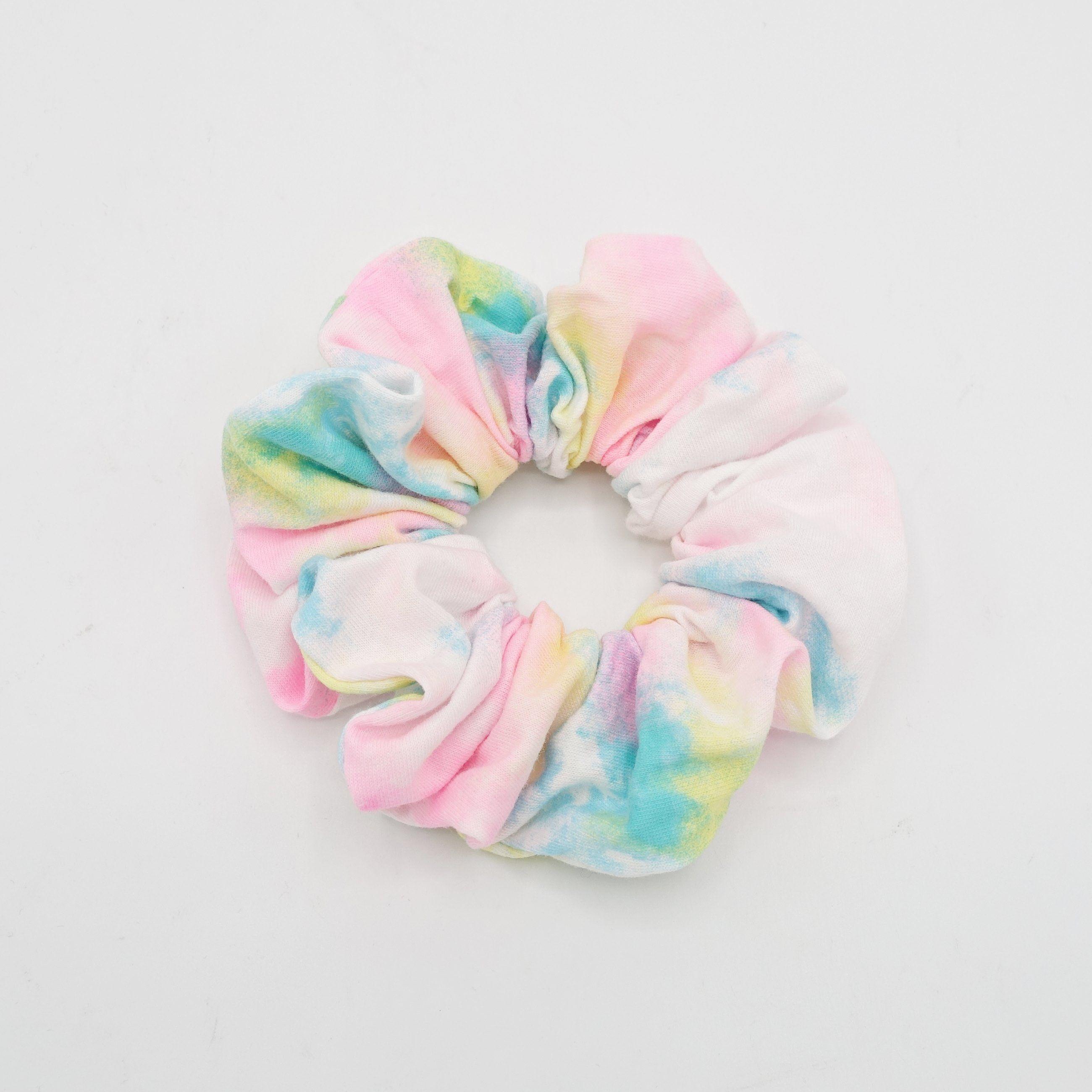 Fleece Scrunchie with Tie Medium