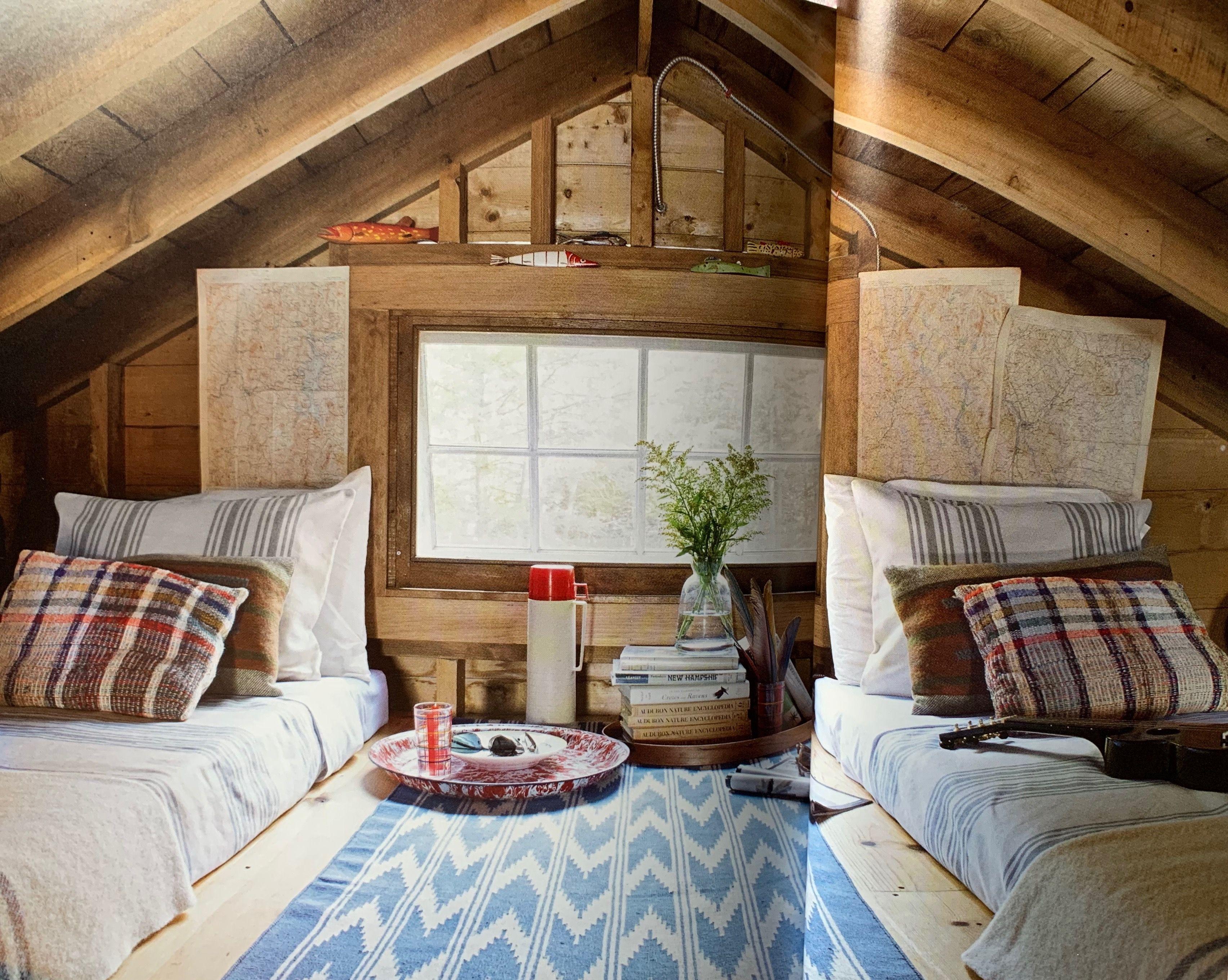 Pin By Kari Michalski On Cabin And Shed Ideas Lakehouse Decor Lake House Furniture Sleeping Loft