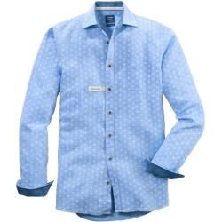 Photo of Olymp casual shirt, modern fit, Kent, Sky, M Olymp