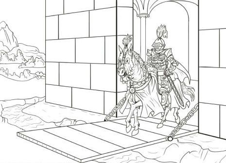 Canterbury Tales Coloring Pages