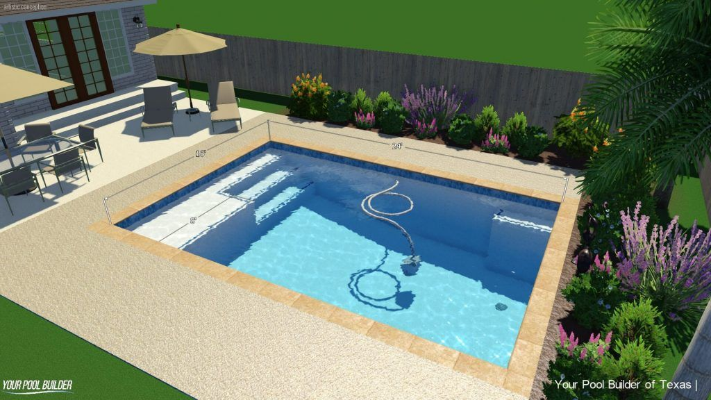 Basic Pool Construction Package | $30k - $40k Swimming Pool Ideas ...