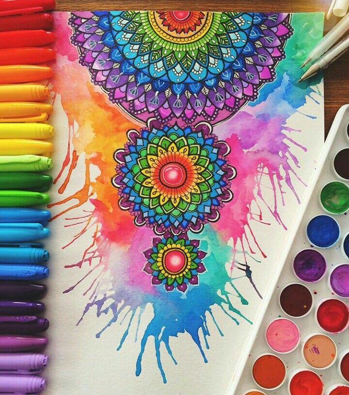 Art Journal Inspiration || Splash