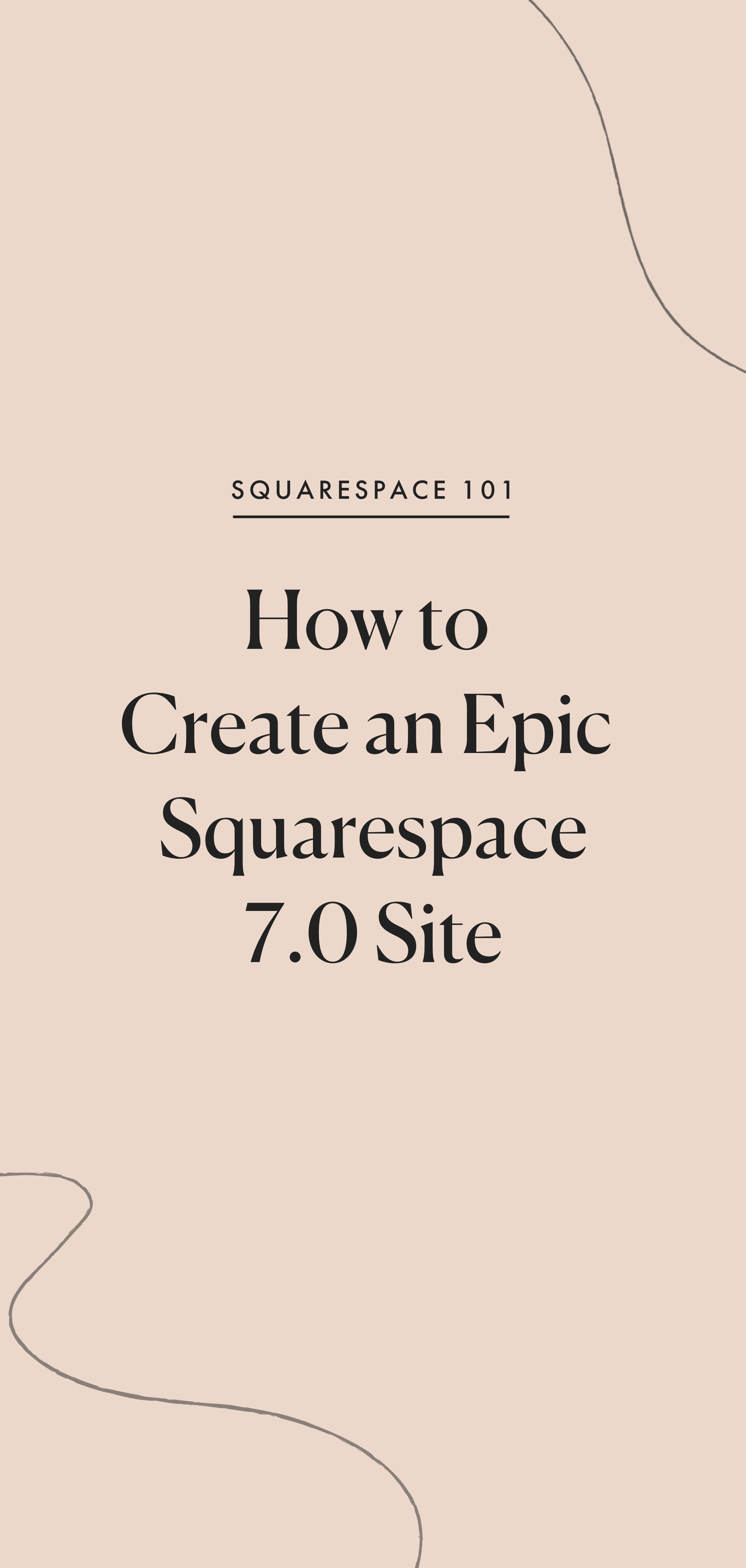 How to create a Squarespace 7.0 site — Station Seven