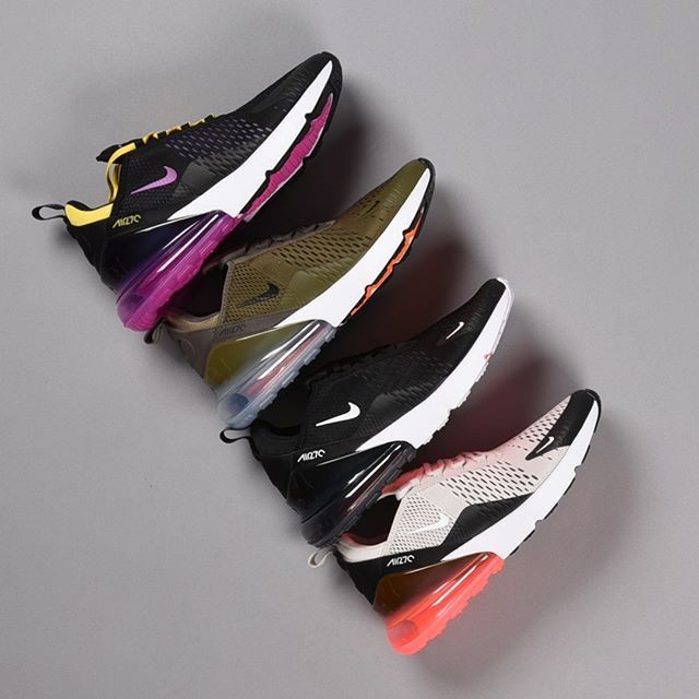 100d1b36aa6e Feel Big Air ☁ The #Nike Air Max 270 is available now in men's, women's,  and kids. 📍: footlocker.com/launch
