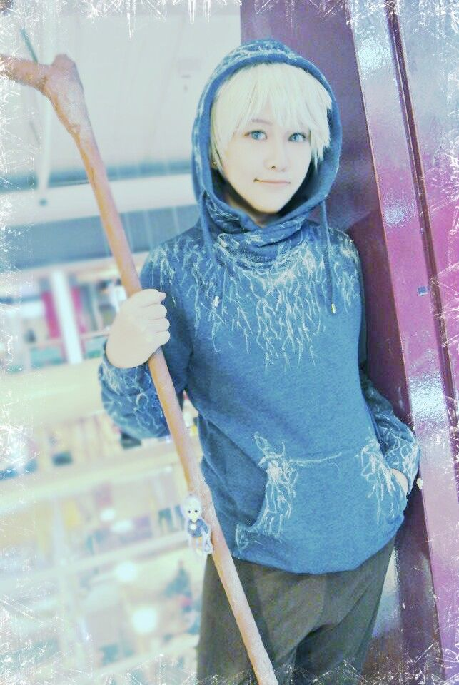 Jack frost cosplay rise of the gaurdians