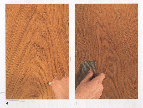 Heart Grain Defining Faux Wood Paint Burled Wood Faux Wood