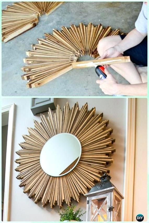 Photo of With the right DIY decoration ideas you can beautify every mirror