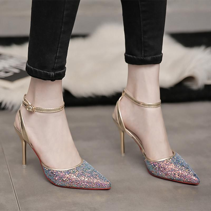 Ankle Pointy Stiletto Boots High Heel Zip Closure Diamante Shoes Womens Ladies