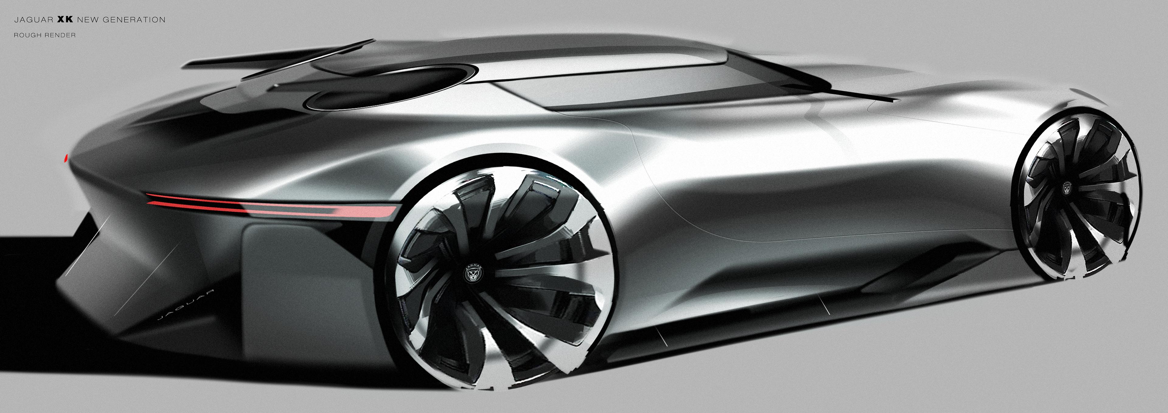 Jaguar Xk New Generation On Behance Auto Ext 行 外饰