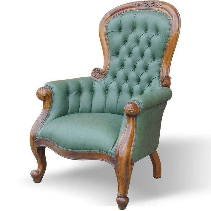 A Nice Vintage Armchair Style   Another Colour Would Work Better.