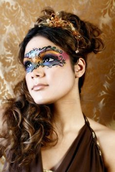masquerade makeup masks butterfly - Google Search