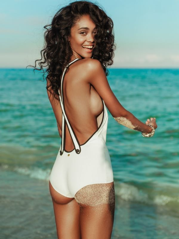1395184887 Beautiful Black Woman on the Beach in Bathing Suit: Yanne Nascimento - Sexy Black  Ladies In Swimwear, Swimsuits, Bathing Suits Galleries: Yanne Nascimento ...