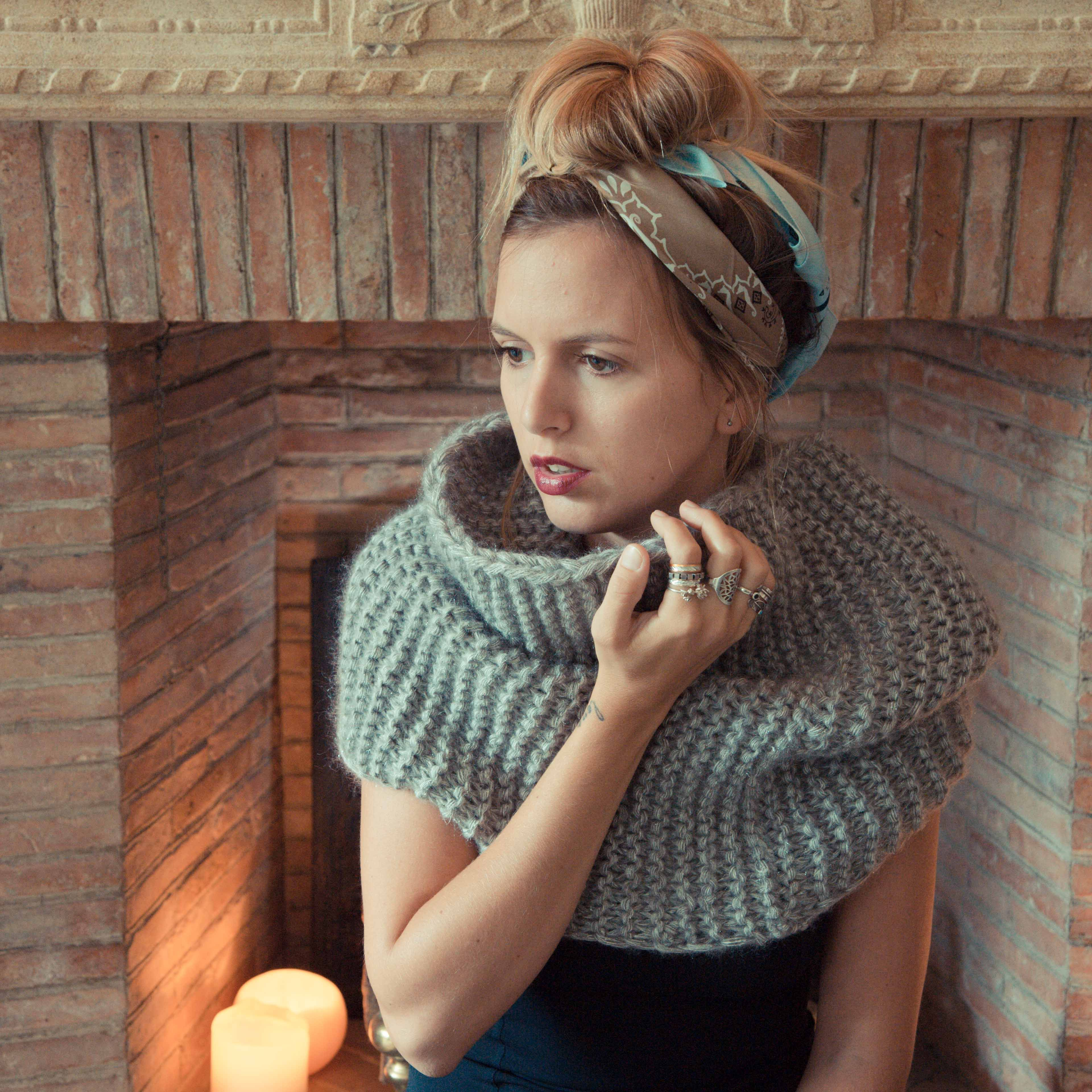 Knit snood www.fishandchic.com | My Style Pinboard | Pinterest