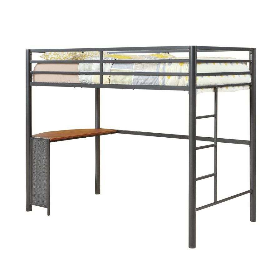 Loft bed with twin underneath  Twin Loft Bed  AJuS ROOM  Pinterest  Lofts and Big girl rooms