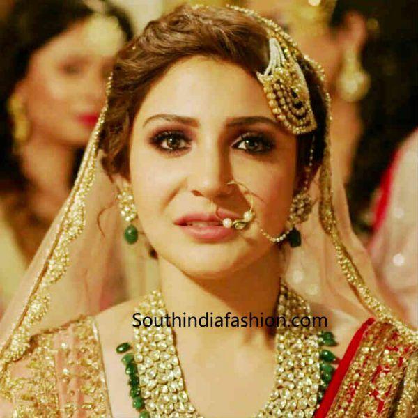 69b79222847 Anushka Sharma s Ae Dil Hai Mushkil Bridal Look Decoded ADHM via   topupyourtrip