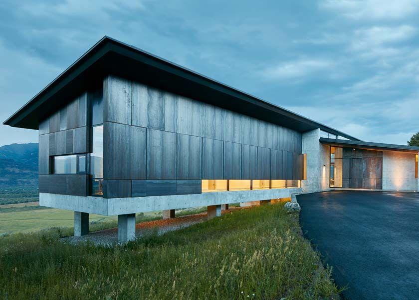 Niedlich Moderne Amerikanische Häuser Galerie - Innenarchitektur ...