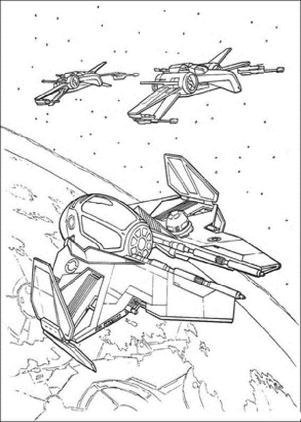 Star Wars Coloring Pages X Wing Fighter Star Wars Drawings Star