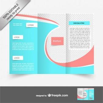 Vector Trifold Brochure Free Download Desgin Pinterest Tri - Tri fold brochure template free download
