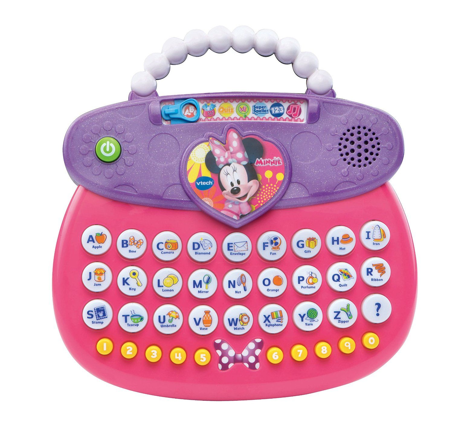 Amazon VTech Disney Minnie ABC Fashion Purse Toys & Games
