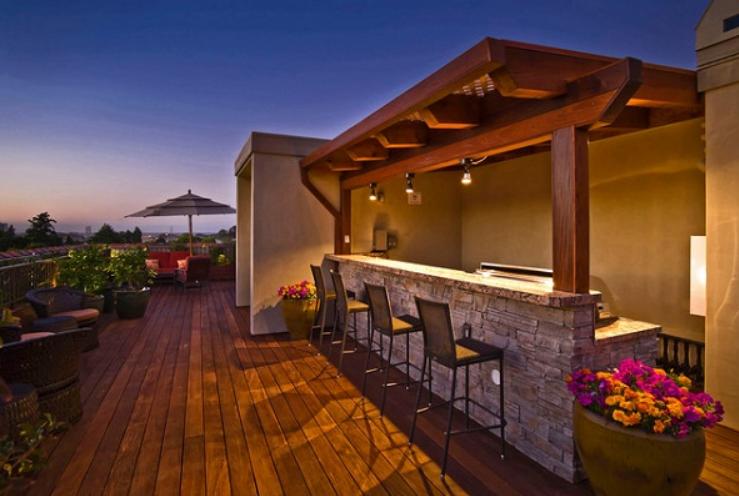 Outdoor Bar Lighting Ideas