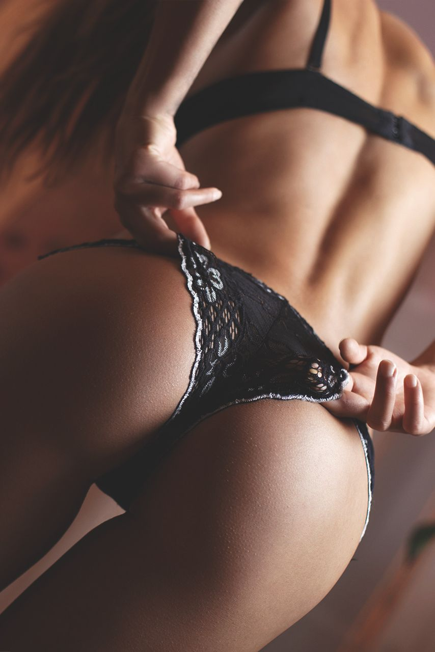 Hot Black Buts