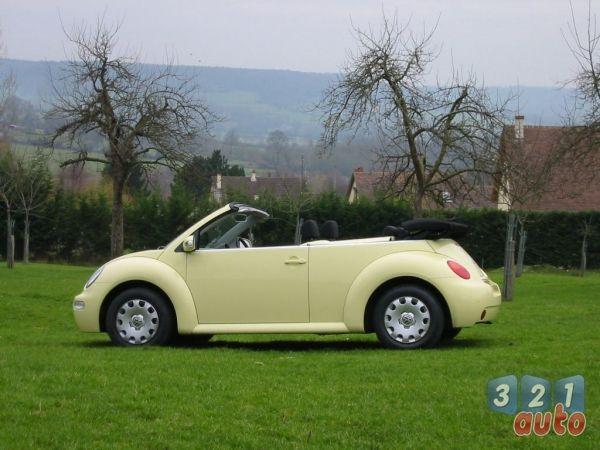 Photo Essai : Volkswagen New beetle Cabriolet 1.6, test de la voiture, avis des internautes