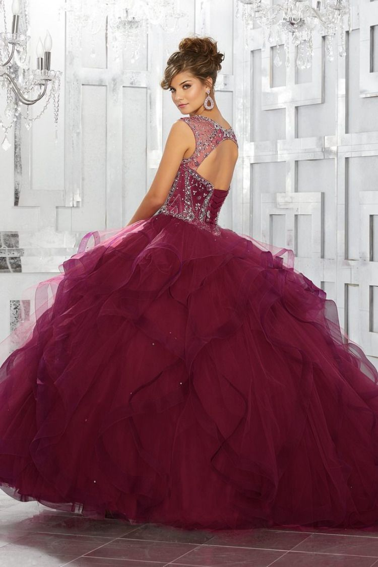 141e5f6d0f742 Satin and Tulle with intricate Embroidery and Beading Quinceanera Dress.  Colors available: Blush,