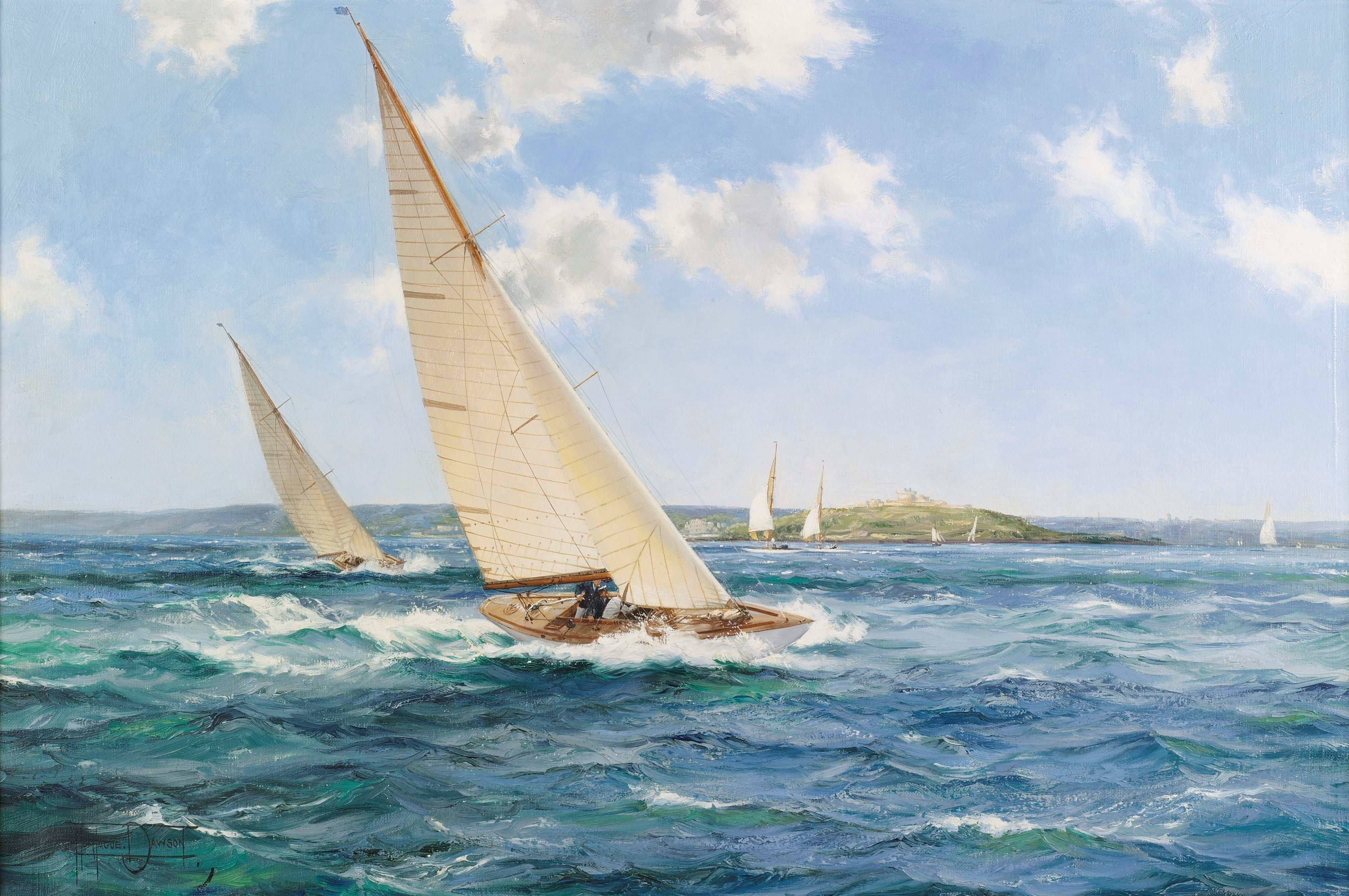 montague dawson montague dawson maritime art pinterest