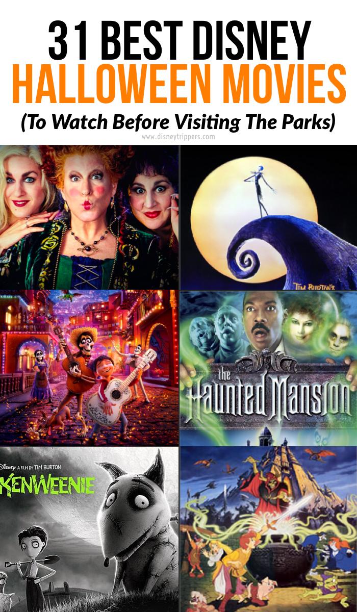 31 Best Disney Halloween Movies to Watch This October