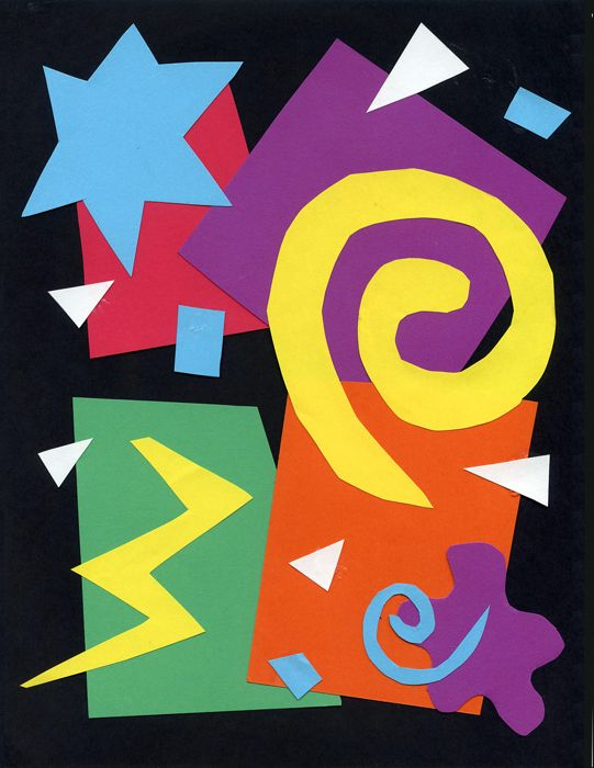 Matisse Art Project Collage · Art Projects for Kids