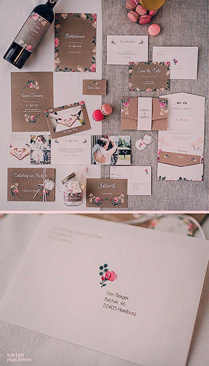 "Photo of Hochzeitspapeterie ""Vintage Rose"""
