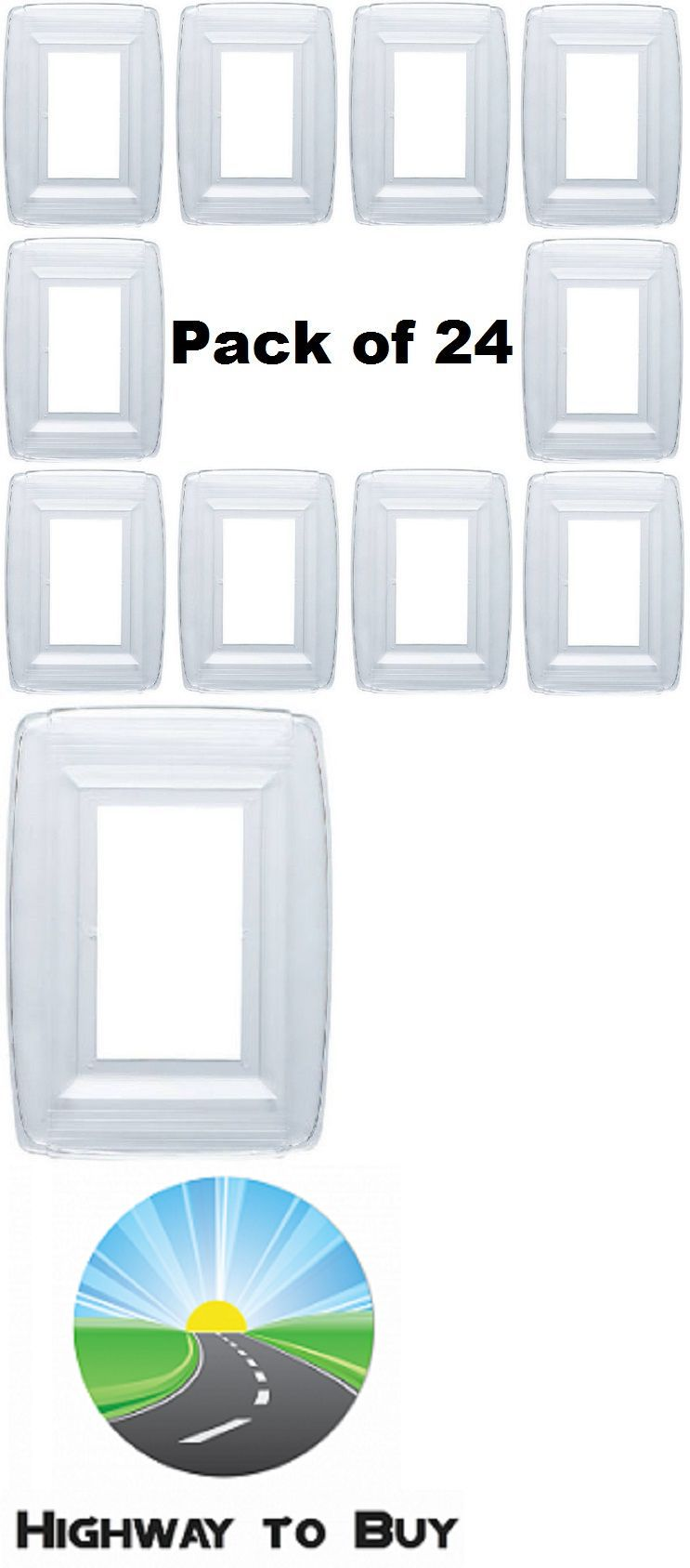 Plastic Light Switch Covers Switch Plates And Outlet Covers 43412 24 Westinghouse 74998