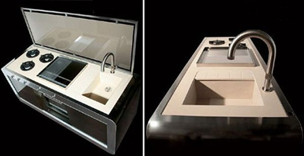 compact kitchen j corradi - Compact Kitchen Sink