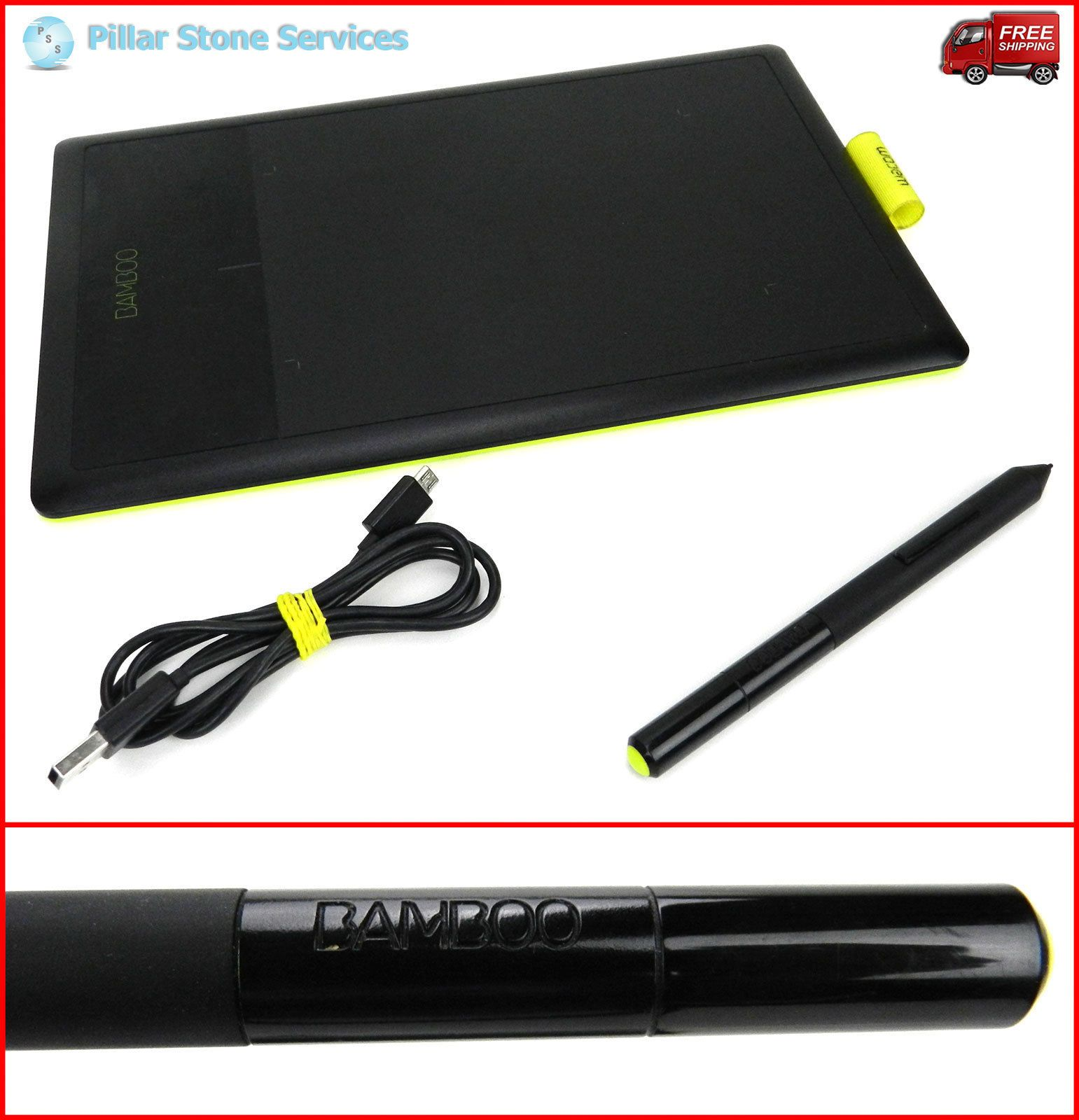 Wacom Bamboo Drawing Tablet Model Ctl 470 Tablet Pen Cable