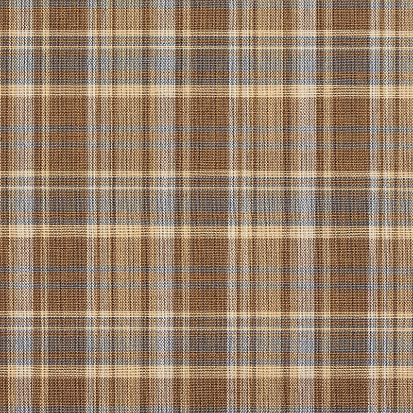 Wheat Plaid Beige And Brown Plaid Tweed Drapery And Upholstery