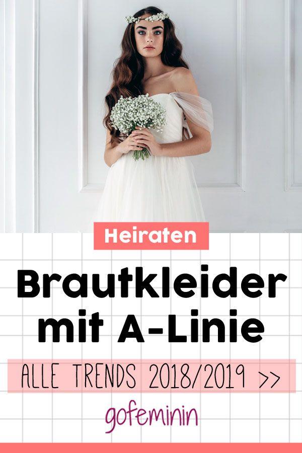 Brautkleider mit A-Linie: Alle Trends und die schönsten Modelle 2018 ...
