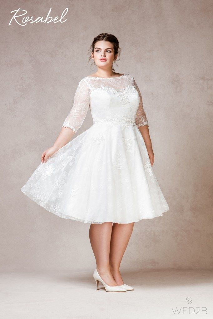 Rosabel plus size wedding dress | Civil wedding dresses ...
