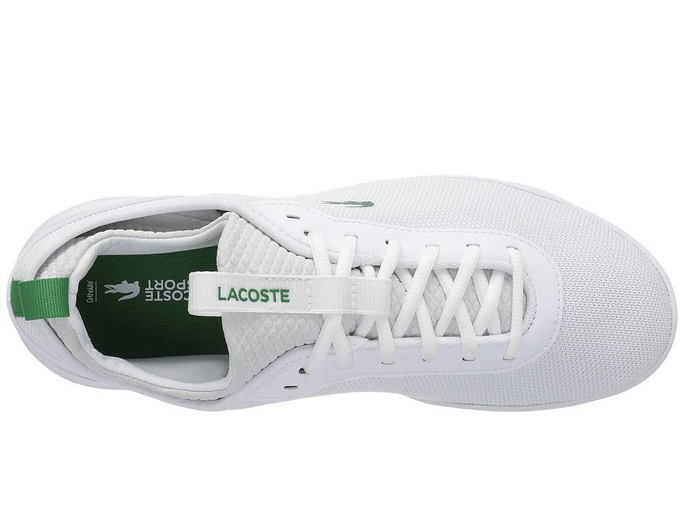 7d8437dc8 Lacoste LT Spirit 2.0 317 1 Men s Shoes White Green